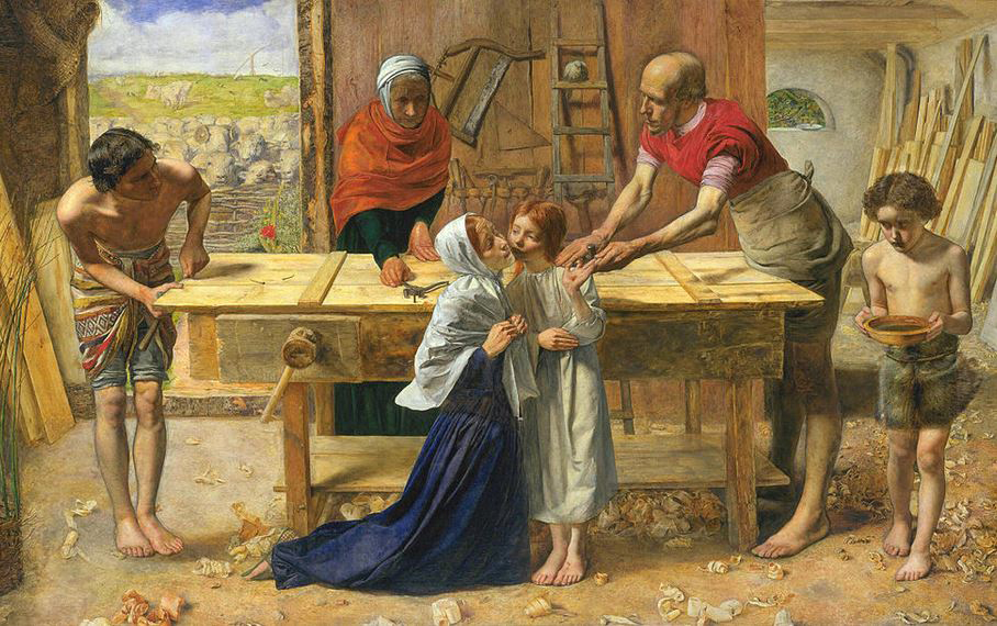 Christ in the House of His Parents by Millais