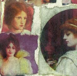 Red Hair Collage (detail)